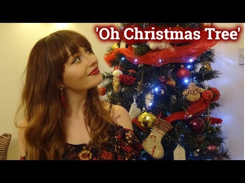 ASMR~ Oh Christmas Tree! -Tapping, Crinkling and Whispering