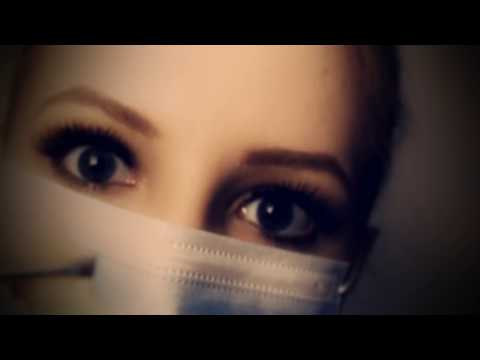 ASMR Worm Infection Ear Exam & Ear Cleaning Role Play