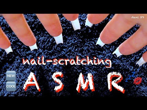💤 Nail-SCRATCHING ear-to-ear ASMR 🎧 So cool sound for relaxation 💋 ↬ with natural long nails ↫ ◈