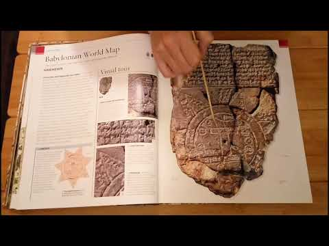 ASMR Great Maps - Looking at a Book with Old Maps