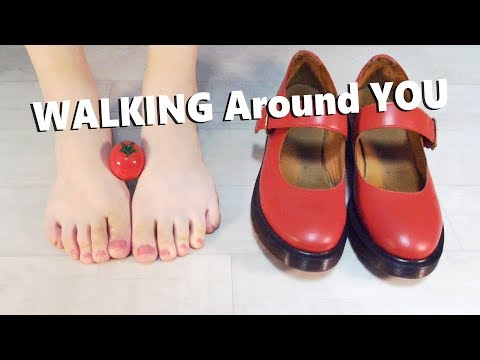 ASMR Can You Hear This Real Walking Sound? (Feet - Sounds of The human body)