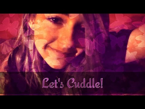 ASMR :: Playful Romantic Cuddles In Bed With Your Girlfriend :: Valentines Day 2016 Special