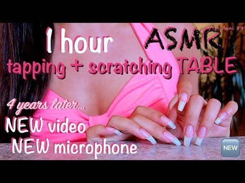 Your favorite TINGLES! 🎧 NEW ear-to-ear ASMR! 💖 My BEST soft and lovely tapping + scratching TABLE ❀