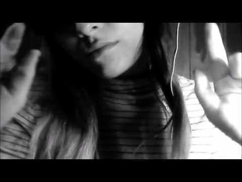 clearing your energy with hand movements + rain sounds (black & white)