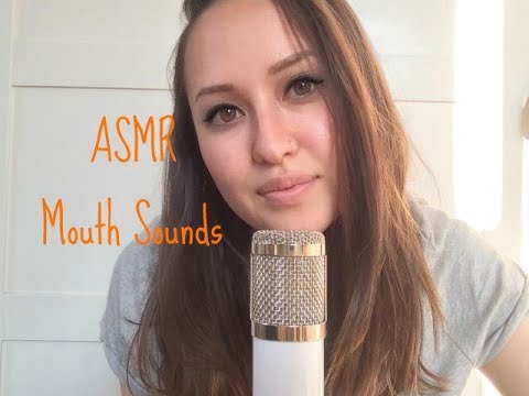 ASMR mouth sounds, kissing, sk sounds, whispering!