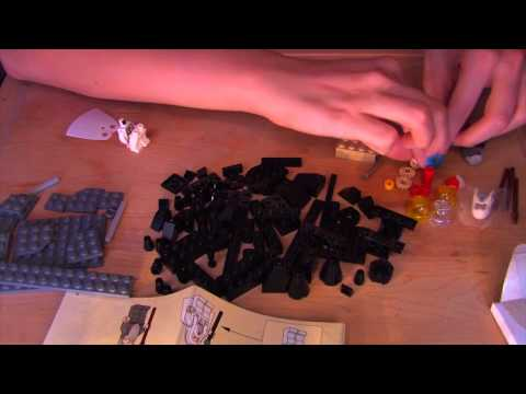 Time Travel Tuesday: Lego - ASMR - Soft Spoken, Tapping, Crinkling, Mindful Movements
