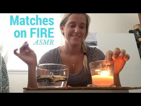 ASMR Matches on *FIRE* ~ ((Requested Video)) ~