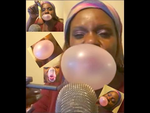 Eating Sounds ASMR  Chewing Gum