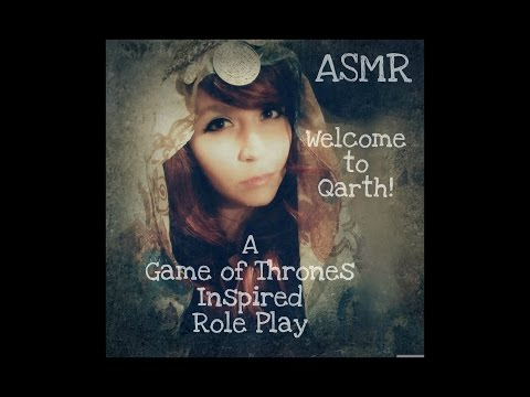 ASMR Welcome to Qarth! A Game of Thrones Inspired Role Play . Whispered . Binaural Audio