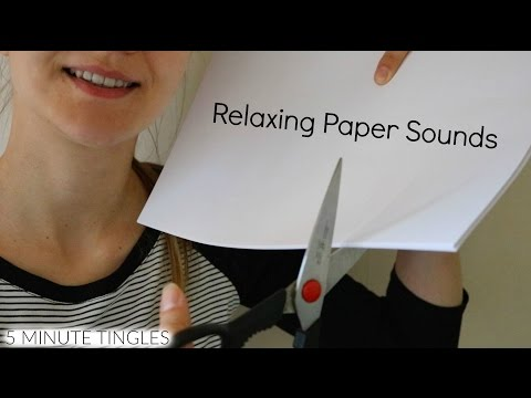 Binaural ASMR ♥ Intense Cutting & Paper Sounds for Your Relaxation