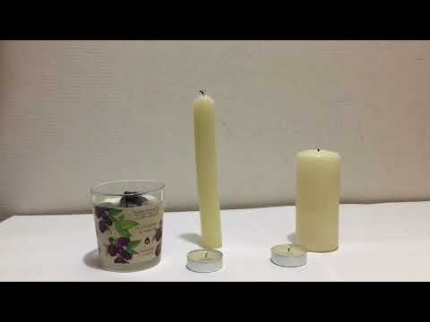 АСМР Звук Свечей/The Sound of Candles