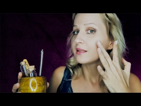 *NEW SOUNDS* Whisked Stickiness & STIPPLES    Facial ASMR SPA with Accent