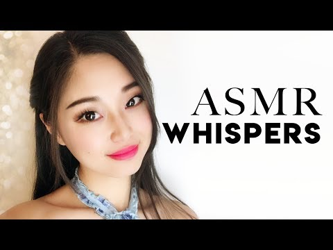 [ASMR] Whispered Holiday Story and Saying YOUR Names!