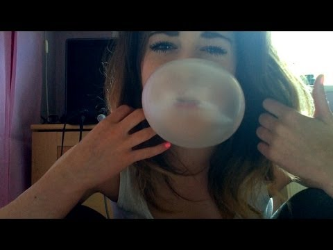 ☯ASMR BUBBLE BLOWING AND MOON DOUGH!☯