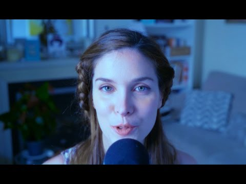 ASMR Francais - Doux Chuchotements - Breathy Whispers - The Queen Of Kisses - La Reine des Bisous