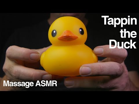ASMR Tappin the Duck - Tapping Sounds - No Talking