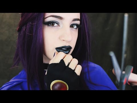 [ASMR] Raven Cuts, Brushes, & Styles Your Hair (Teen Titans Roleplay)