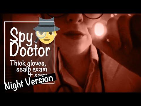 [Night Version🌙] Scalp Check for a SPY 🕵️ Medical ASMR Roleplay