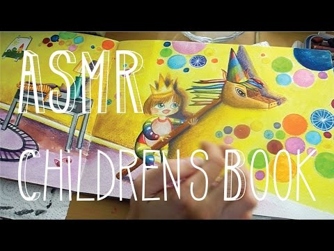 ASMR Colouring Children's Book - Whispering - Little Watermelon