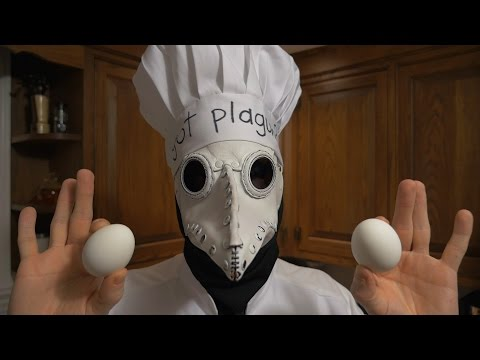 """A Recipe for Relaxation"" with Chef Corvus, ASMR Culinary Plague Doctor"