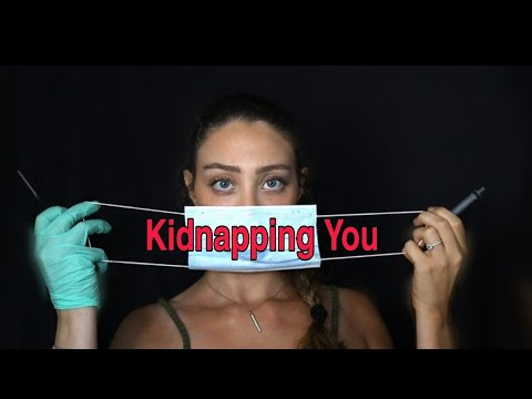 Kidnapped by a French woman🔪 | ASMR | Comedy Sketch🎭