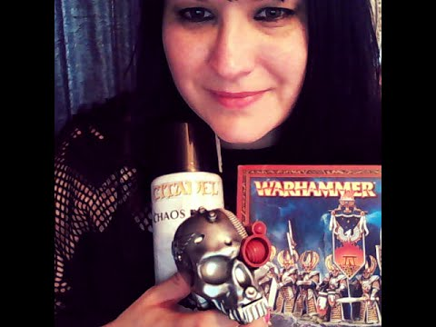 whisper ASMR WARHAMMER GAMES WORKSHOP ROLE PLAY - PERSONAL ATTENTION - TRIGGER SOUNDS & VISUALS