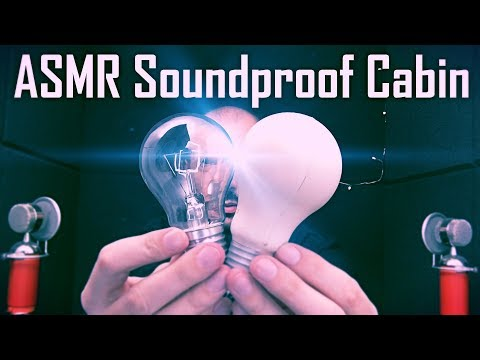 One Hour ASMR From Soundproof Cabin (No Talking)