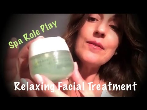 ASMR Relaxing Spa Facial Treatment | Personal Attention & Soothing Sounds