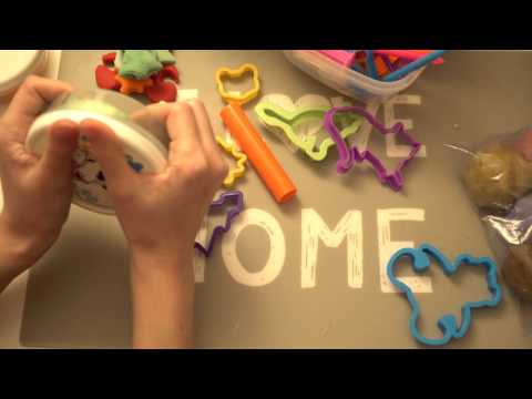 ★ASMR Learning Colours and Numbers in Catalan with Play Doh