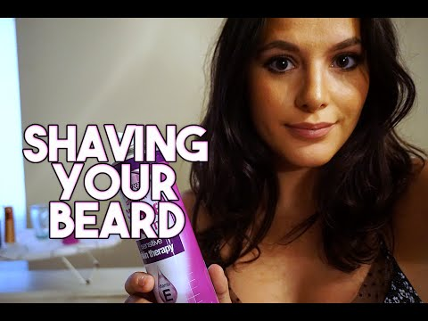 ASMR Shaving Your Beard Roleplay