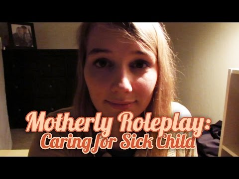 [BINAURAL ASMR] Motherly Roleplay: Caring for Sick Child (sipping, personal attention)