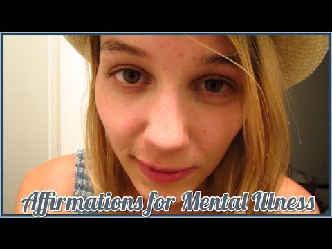 [BINAURAL ASMR] Affirmation for Mental Illness and Depression (ear-to-ear whispering)