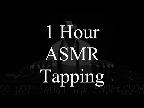 1 Hour ASMR Tapping for your Relaxation and Sleep