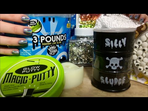 THE ASMR SLIME VIDEO TO BEAT ALL SLIME VIDEOS | Binaural Mix Of EXTREMELY CRUNCHY & GOOEY Sounds