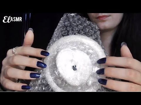 ASMR INTENSE CRINKLE SOUND ON YOUR EARS.♥ 3DIO [No talking]