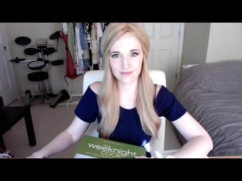 Let's make dinner! Soft-spoken ASMR with page turning, paper sounds, and writing sounds