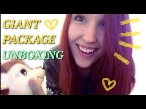 [NOT ASMR] MAIL TIME! Unboxing the BEST CHRISTMAS PACKAGE EVAH! :3