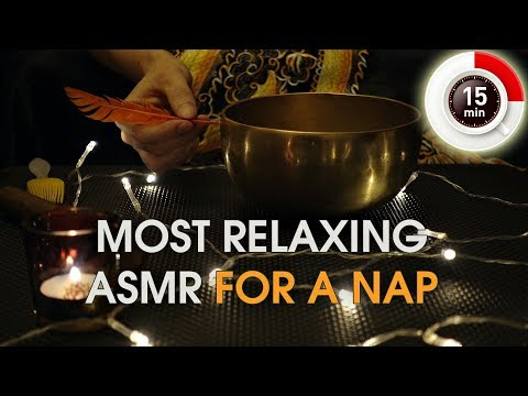 Most Relaxing ASMR For a Nap (With Tibetan Bowl)