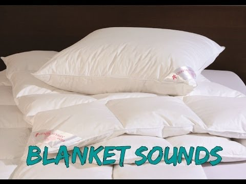 ASMR ♥ Crinkly Sounds of A Down Comforter ★TINGLES GALORE★