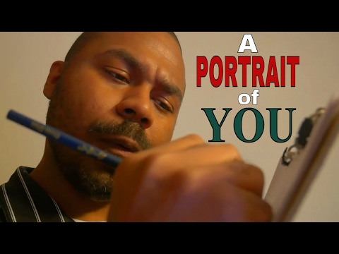 ✏️ ASMR Drawing YOU Roleplay | An ASMR Portrait Drawing | SKETCHING YOU with Colored Pencils #2