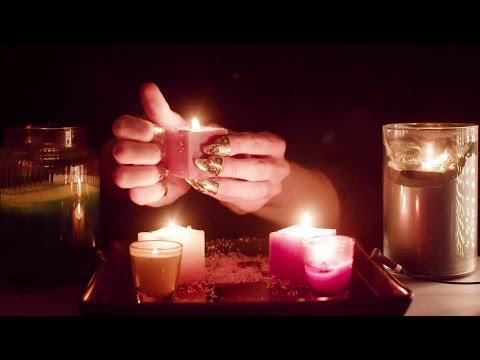 ASMR #100.6 - Candle scratching and tapping