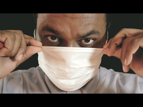 "ASMR Dentist Roleplay ""Plaque Removal"" with Dental Cleaning"
