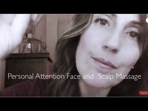 ASMR Personal Attention Treatment: Face Cleansing | Face and Scalp Massage | Close Up Whispering |