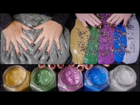 The ULTIMATE #Slime Video Pt2 | Mixing GALAXY to UNIVERSE | ASMR Glitter, Stars & Sand
