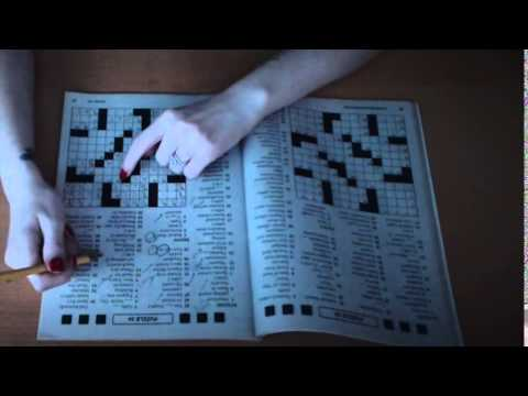 Binaural ASMR Cozy Crossword with Paper and Pencil Sounds