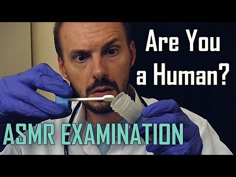 Are You a Human? Doctor Examination Role Play (ASMR)