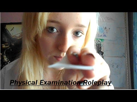 Physical Therapist Examination RP - Ear-to-Ear - (Soft Spoken) (Close Up Attention) ASMR