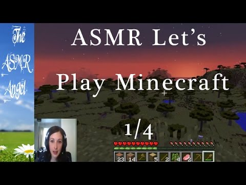 ASMR Let's play Minecraft - Laying the foundations