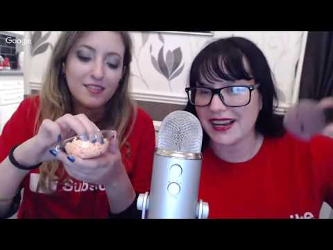 Asmr Livestream - Tingly Triggers with a VERY SPECIAL ASMR GUEST HERMETIC KITTEN ASMR