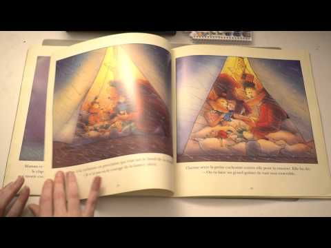 ASMR Reading my Favourite Picture Book in French | Whispering